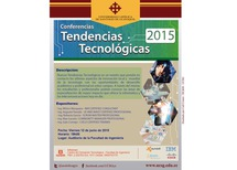 "Conferencia ""Tendencias Tecnológicas 2015"""